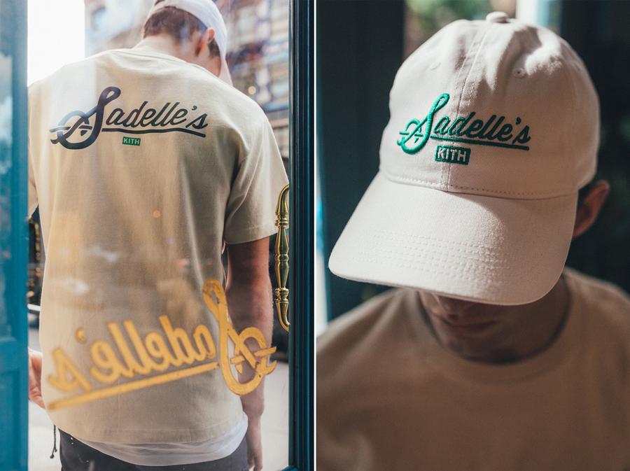 紐約街頭品牌新秀Kith跟「網紅」餐廳 Sadelle聯名推出的一系列服飾