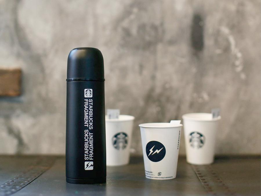 Fragment x Starbucks保溫杯系列