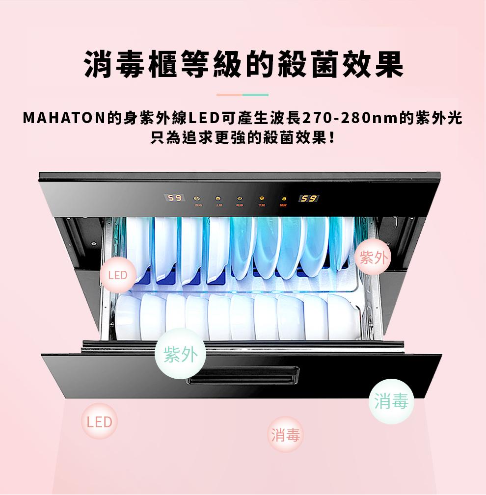 MAHATON 可攜式紫外線消毒燈1