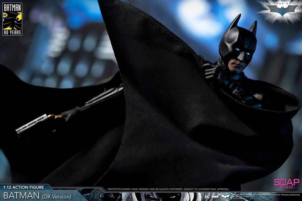 Figura Boneca móvel Soap Studio FG004 1//12 Batman Dark Knight Rise DX12 Ver