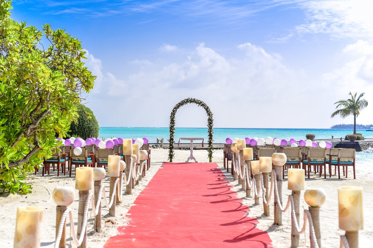 婚禮地點場所的選擇有很多