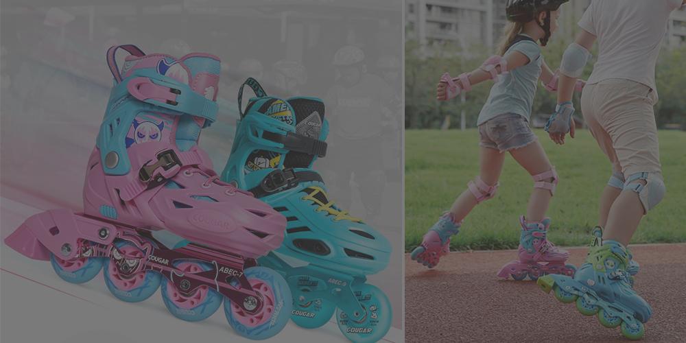 如何挑選孩子的第一雙初學直排輪【初學平花硬殼鞋】