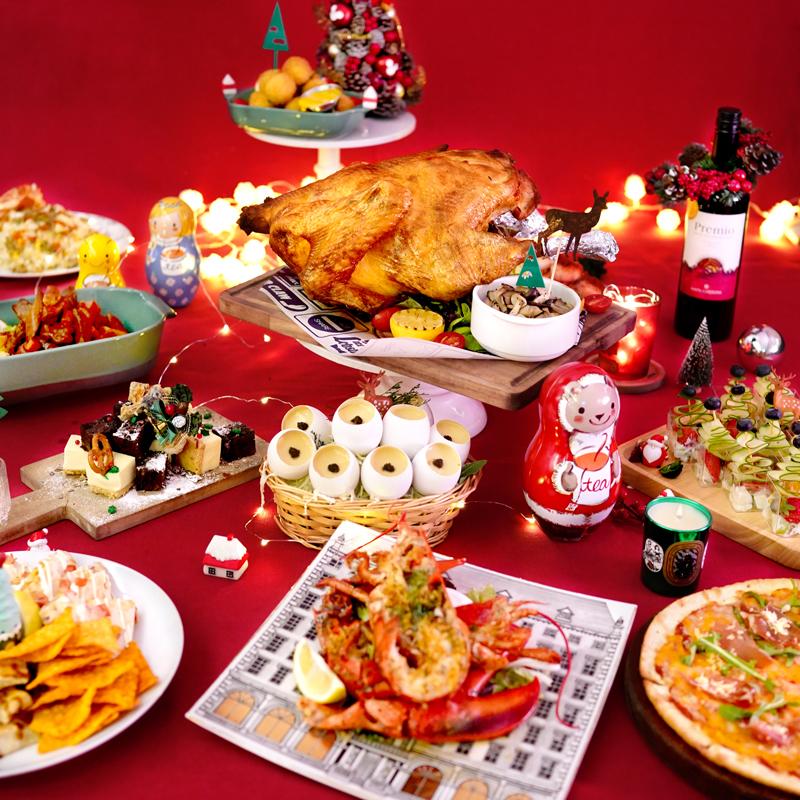 Kamadelivery推出的聖誕到會套餐