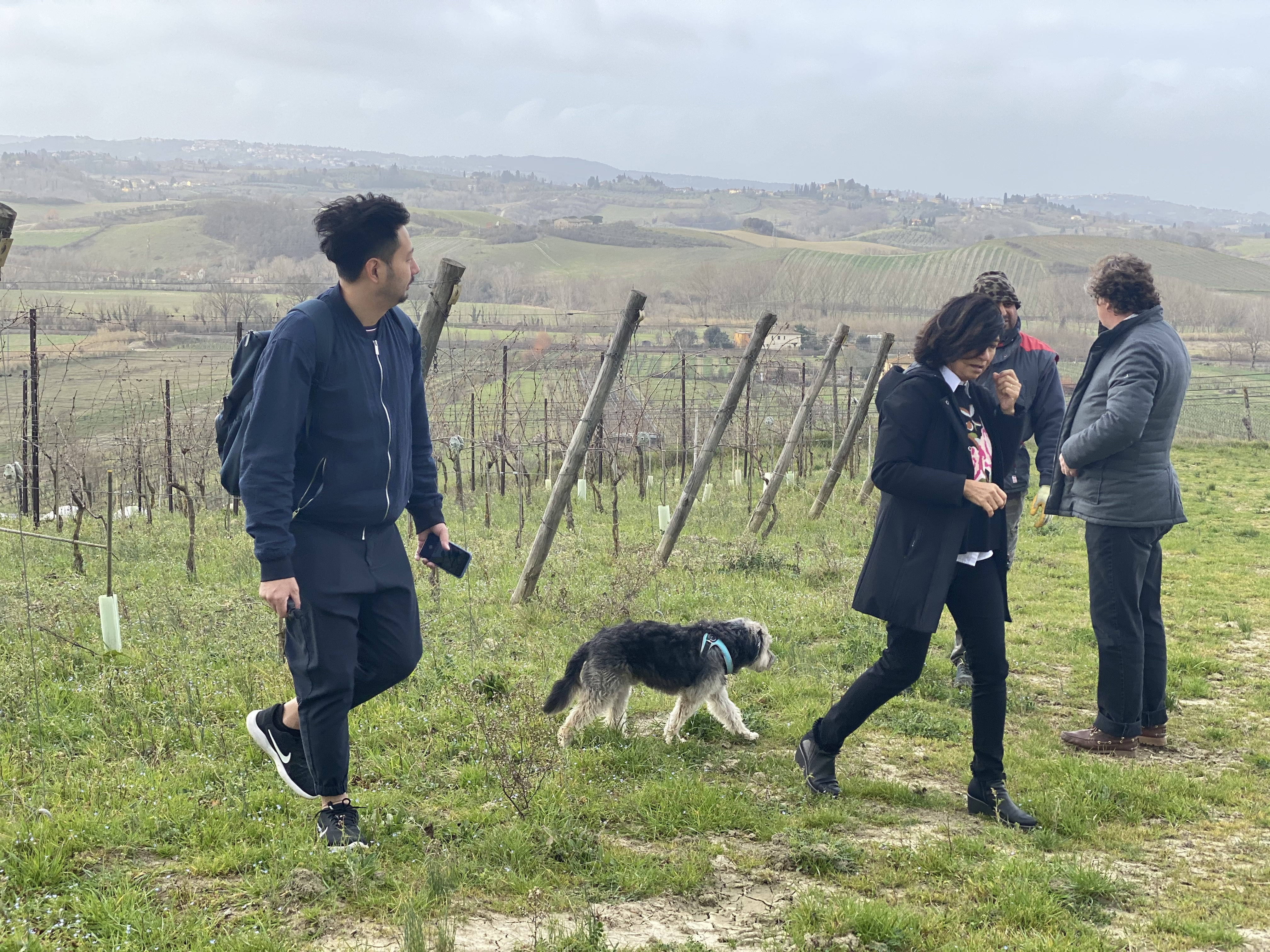 Davinum Toscanetti , IGT Tuscano,Daniel Schaetti