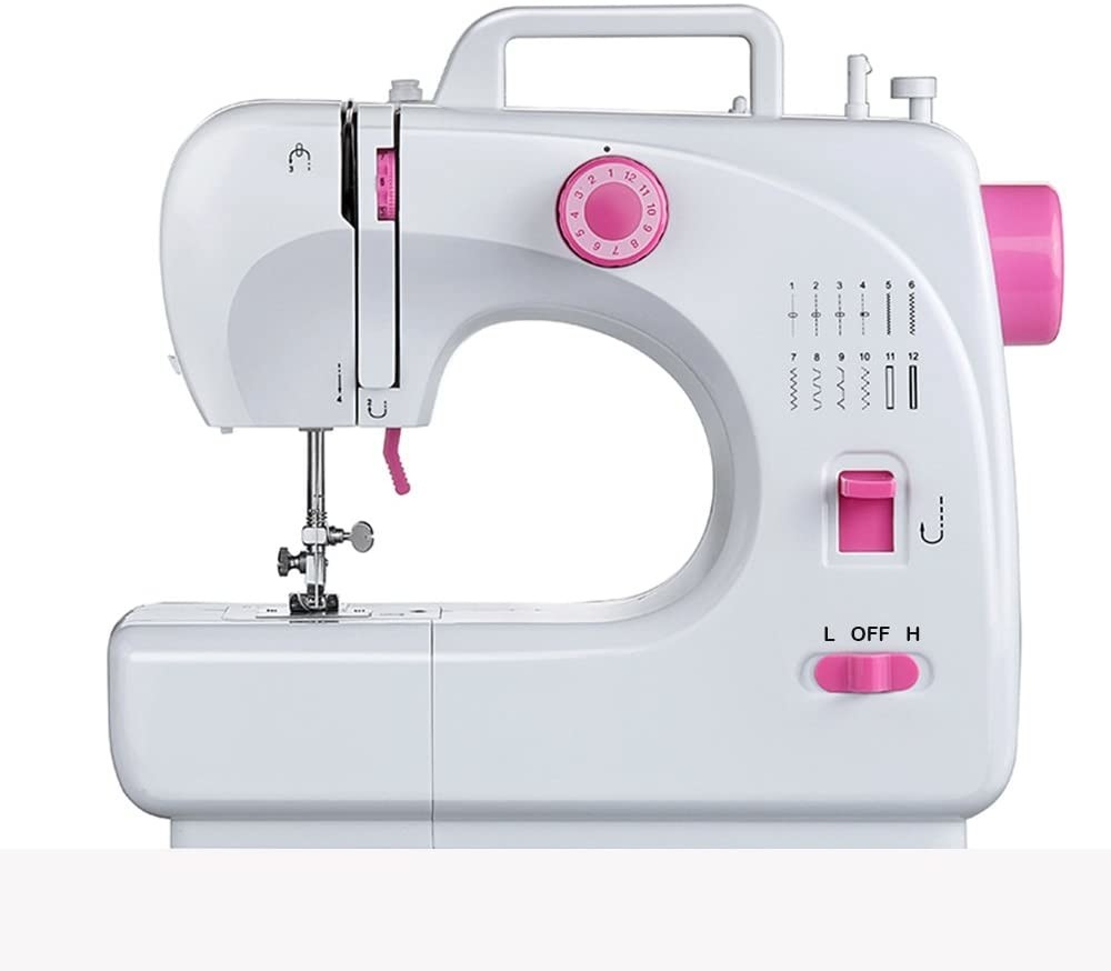 JoyGrace Household Sewing Travel New Exquisitely Designed Durable Mini Handheld Portable Machine Stitch Electric