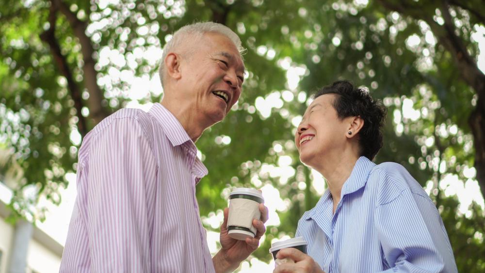 喝咖啡長壽