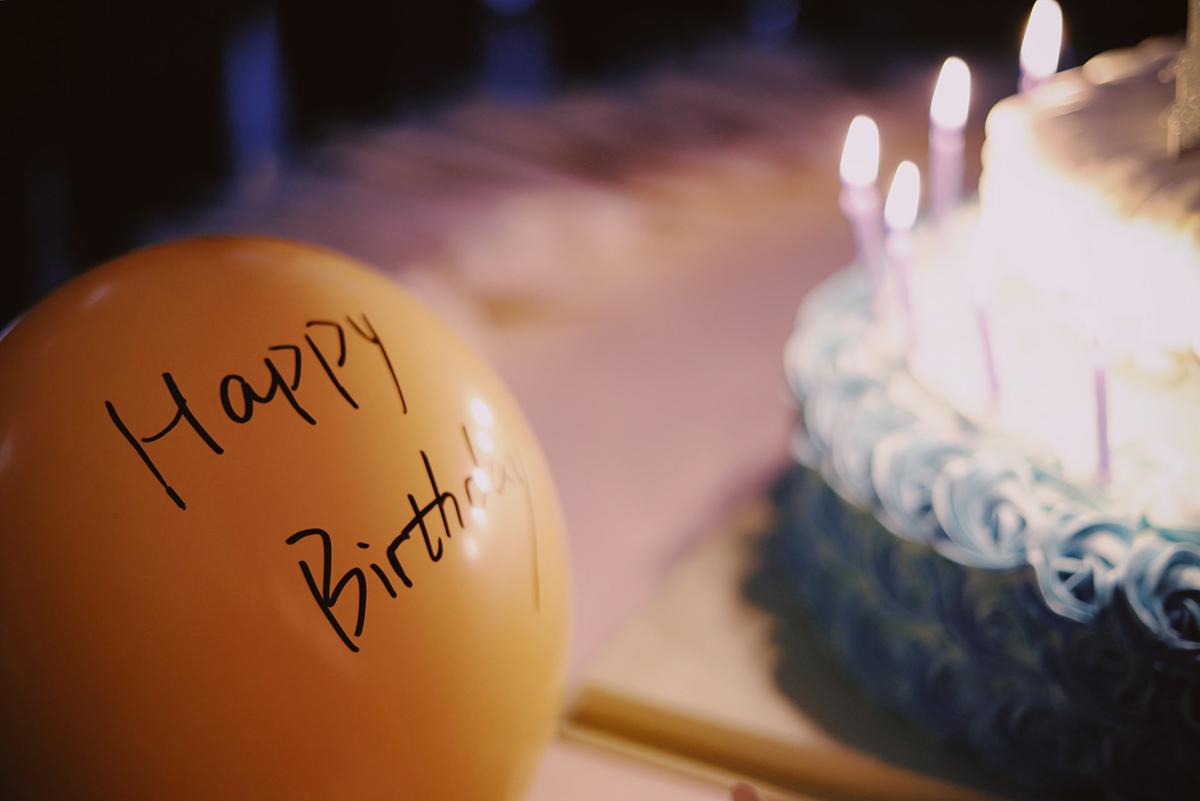 屋企慶祝生日