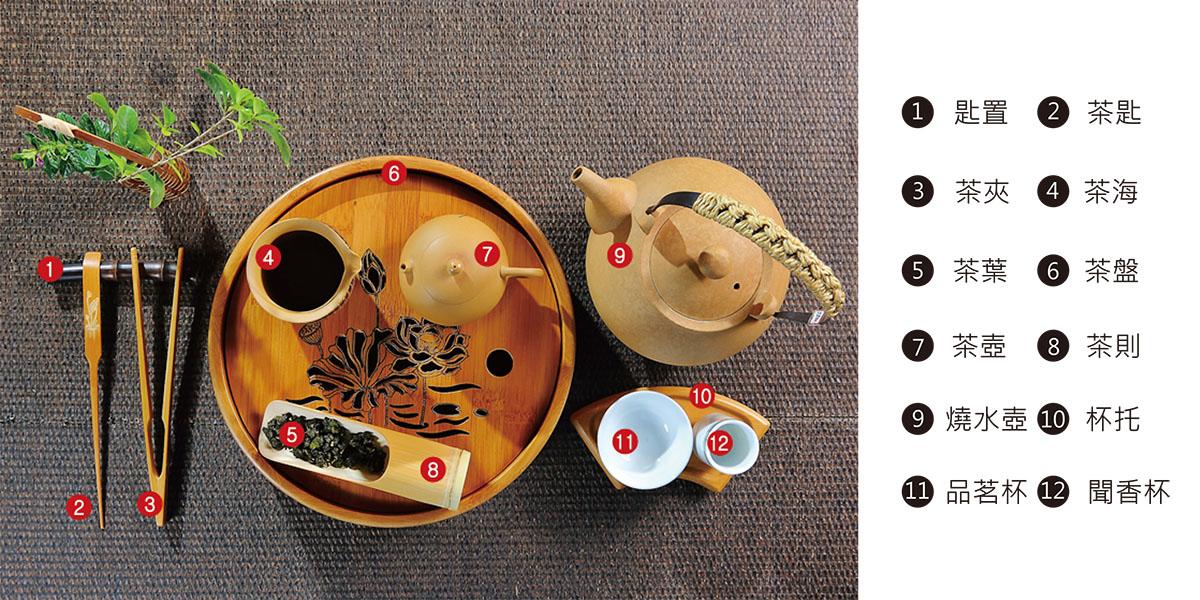 想泡出好茶必備的專業泡茶器具
