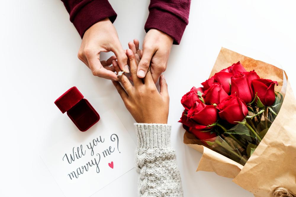 結婚鑽戒戴法
