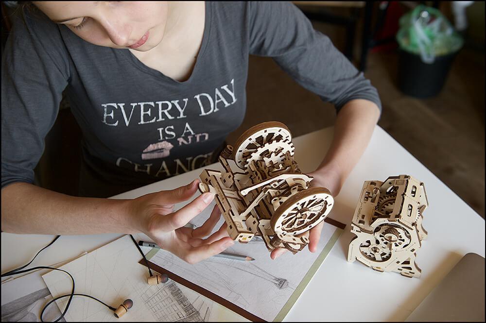 機械 玩具 機械 齒輪 動手做 玩具