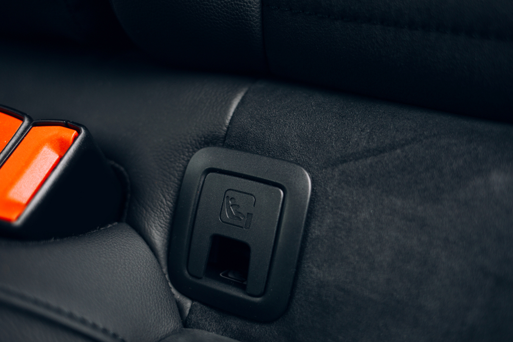 安全座椅ISOFIX插槽
