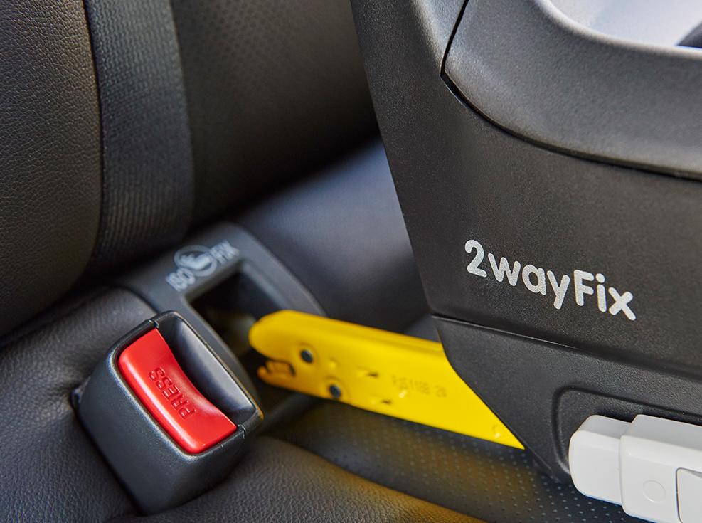 安全座椅ISOFIX安裝