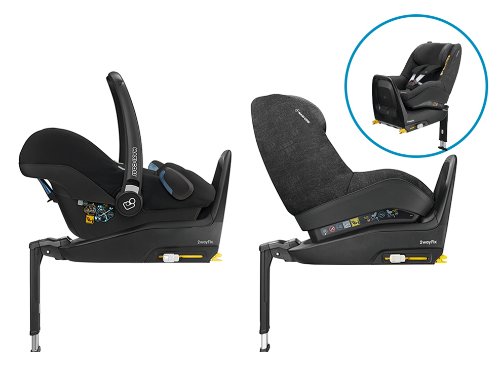 ISOFIX底座搭配兒童安全座椅