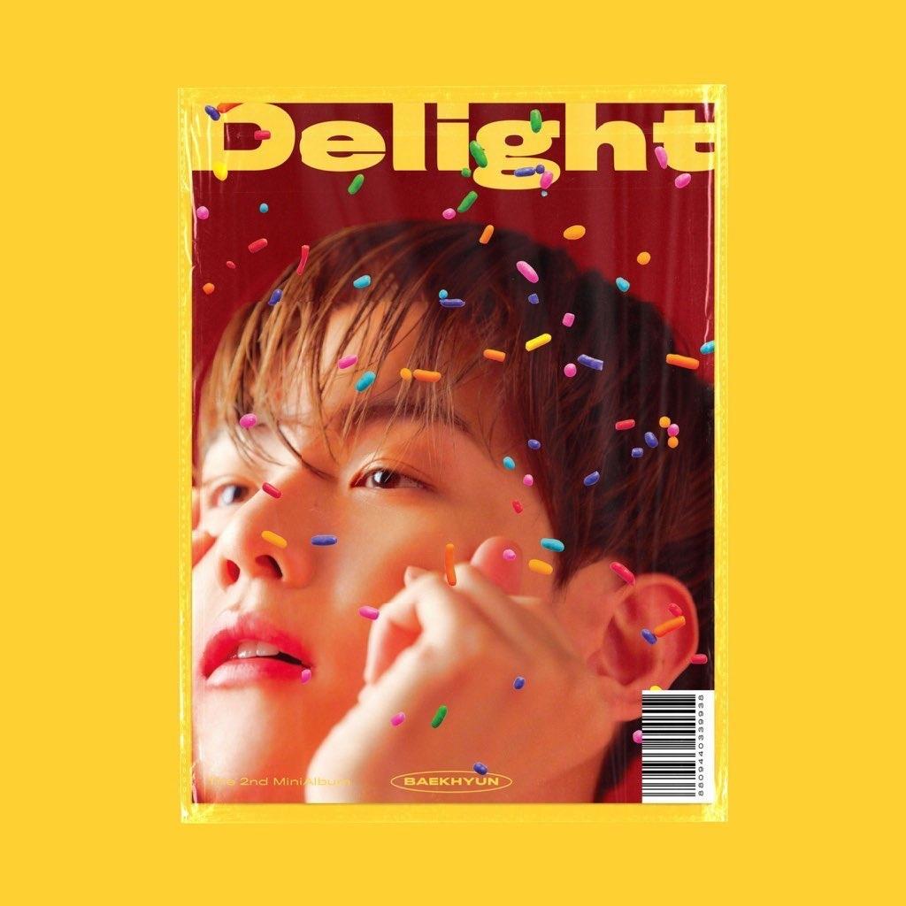 Pre Order Exo Baekhyun Delight 2nd Mini Album