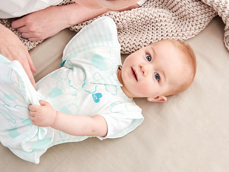 嬰兒懶人包巾