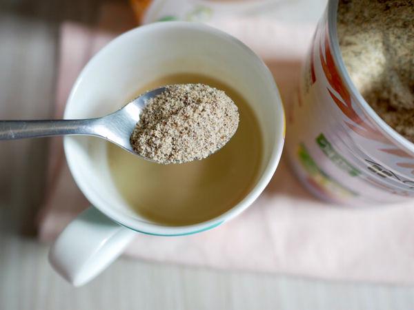 植物奶加一匙藜麥粉