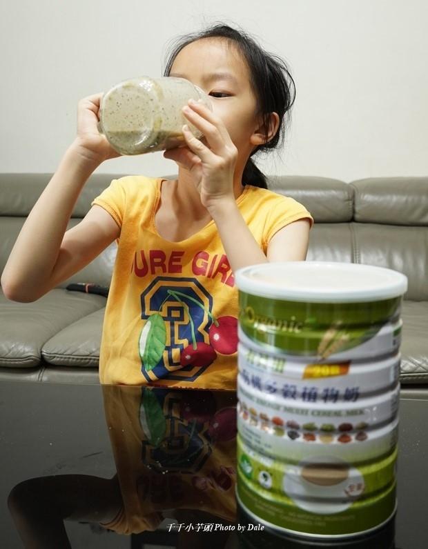 小朋友喝有其田植物奶