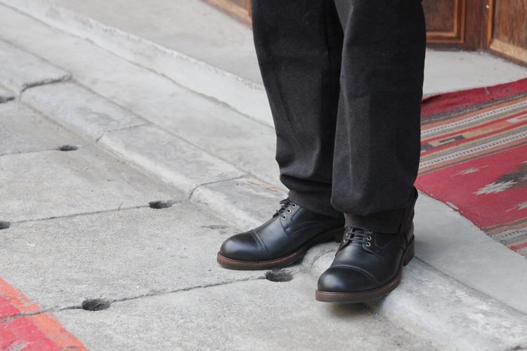 工作靴穿搭