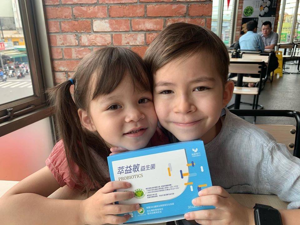 兒童益生菌推薦-台澳混血双岦兄妹-Livio & Leah好評推薦