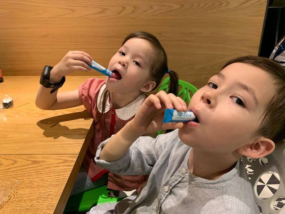 兒童益生菌推薦-台澳混血双岦兄妹-Livio & Leah好評推薦4
