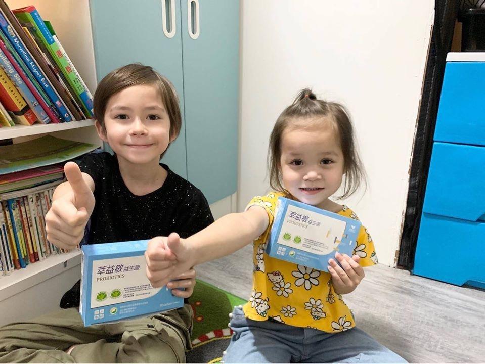 兒童益生菌推薦-台澳混血双岦兄妹-Livio & Leah好評推薦6