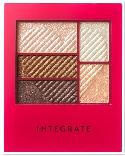 INTEGRATE 三度漸層光綻眼影盒(5色)