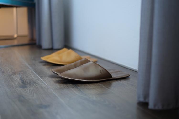 牛皮室內拖鞋