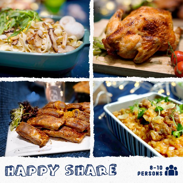 Happy Share (8-10人套餐)的多人到會套餐