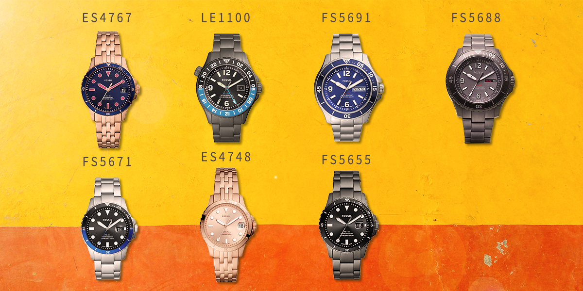 Fossil 季節主打手錶