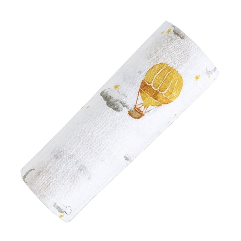 美國 Malabar baby 夢想升空-有機棉包巾(1入)