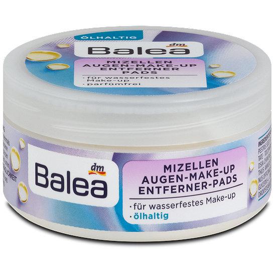 Balea 德國芭樂雅專業眼部卸妝棉 (含植物油) (50片裝)
