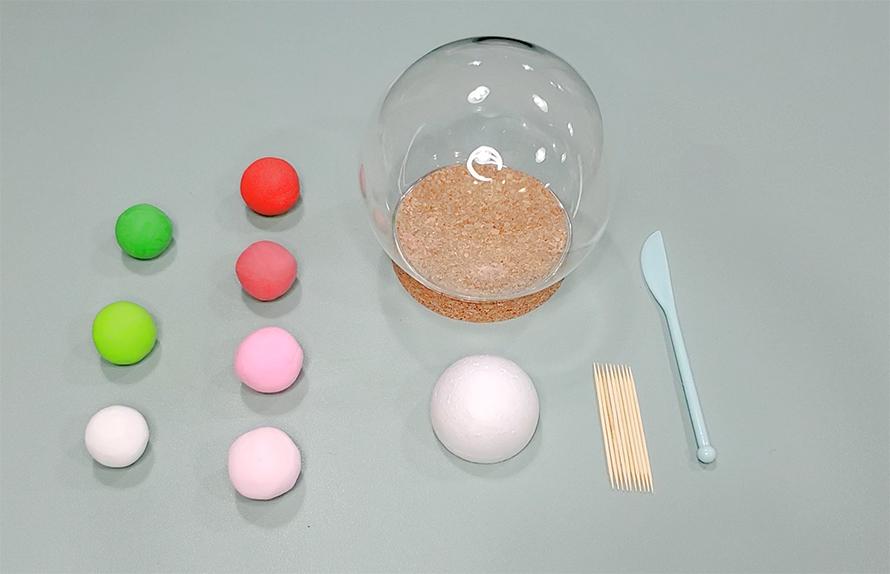 康乃馨水晶球工具及材料
