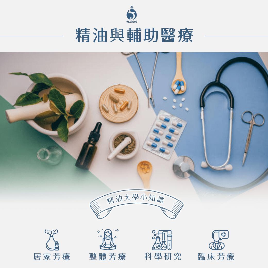 芳療與醫療輔助,居家芳療,整體芳療,科學研究,臨床芳療