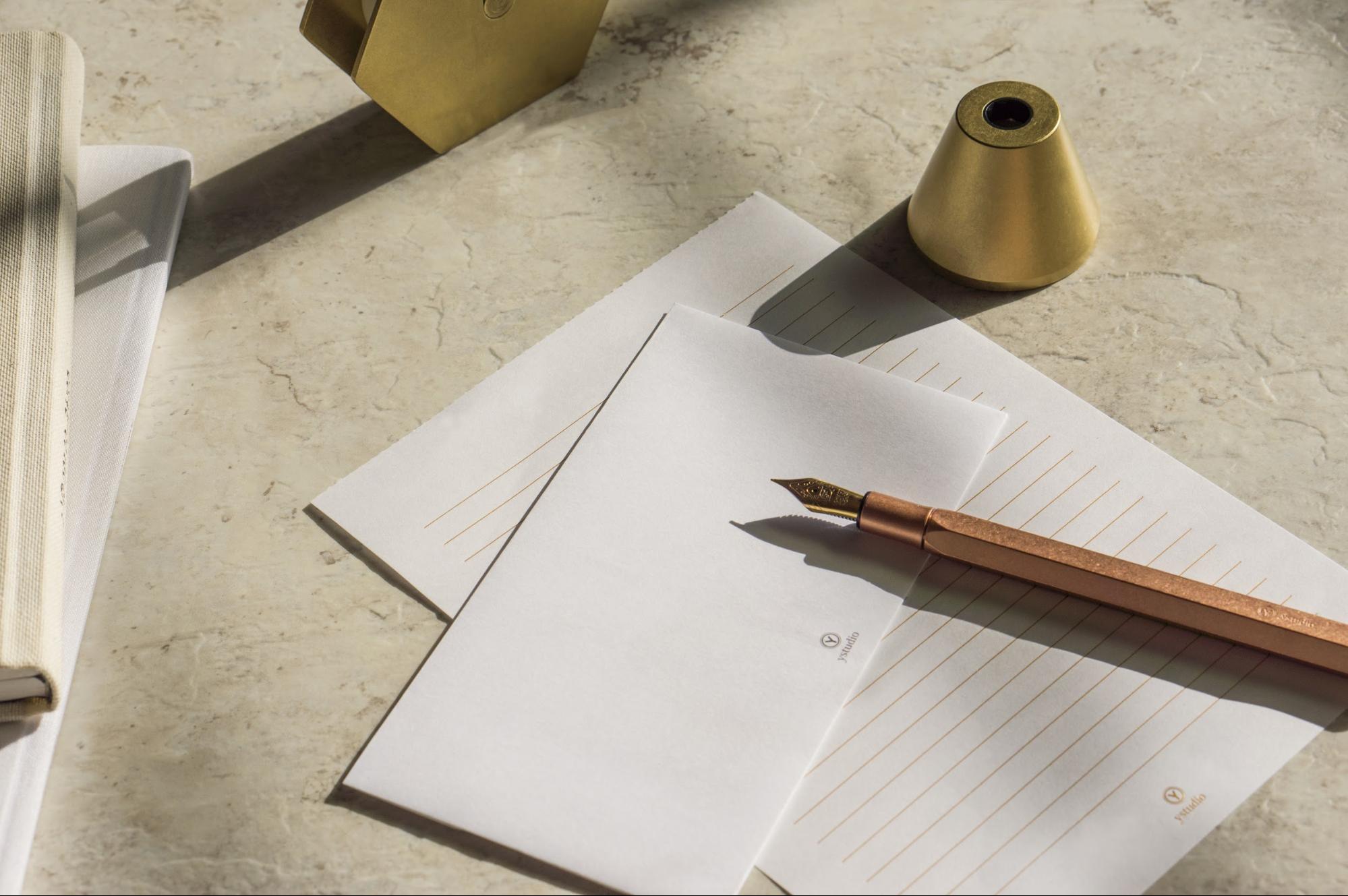 鋼筆送禮推薦:物外設計