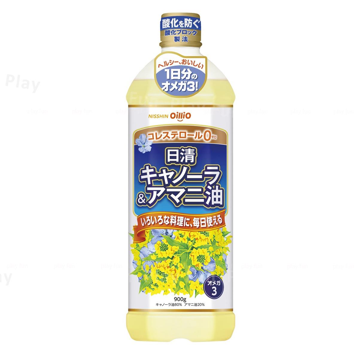 日清 - 芥花亞麻籽油