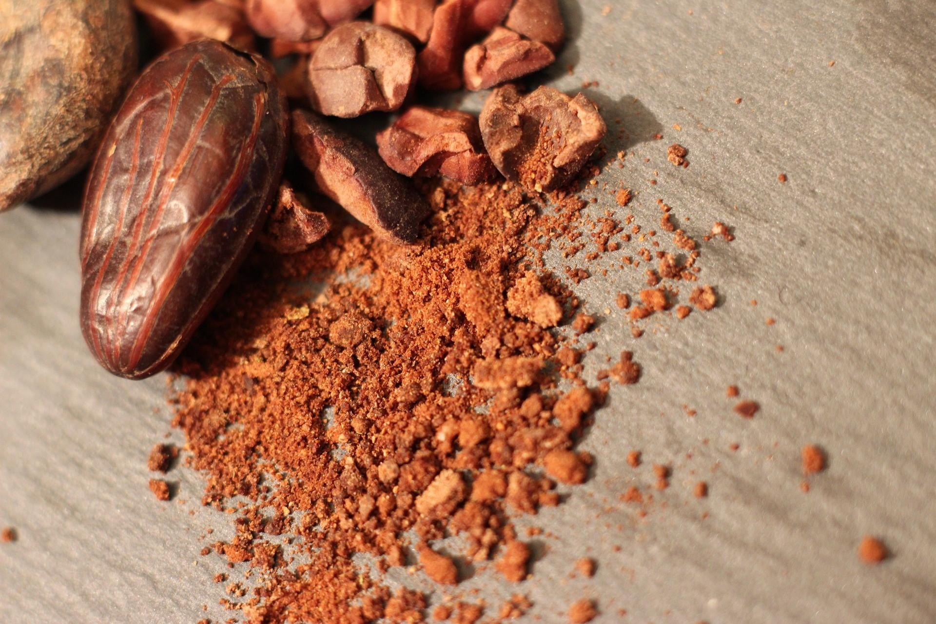具多種微量元素的可可豆及可可粉