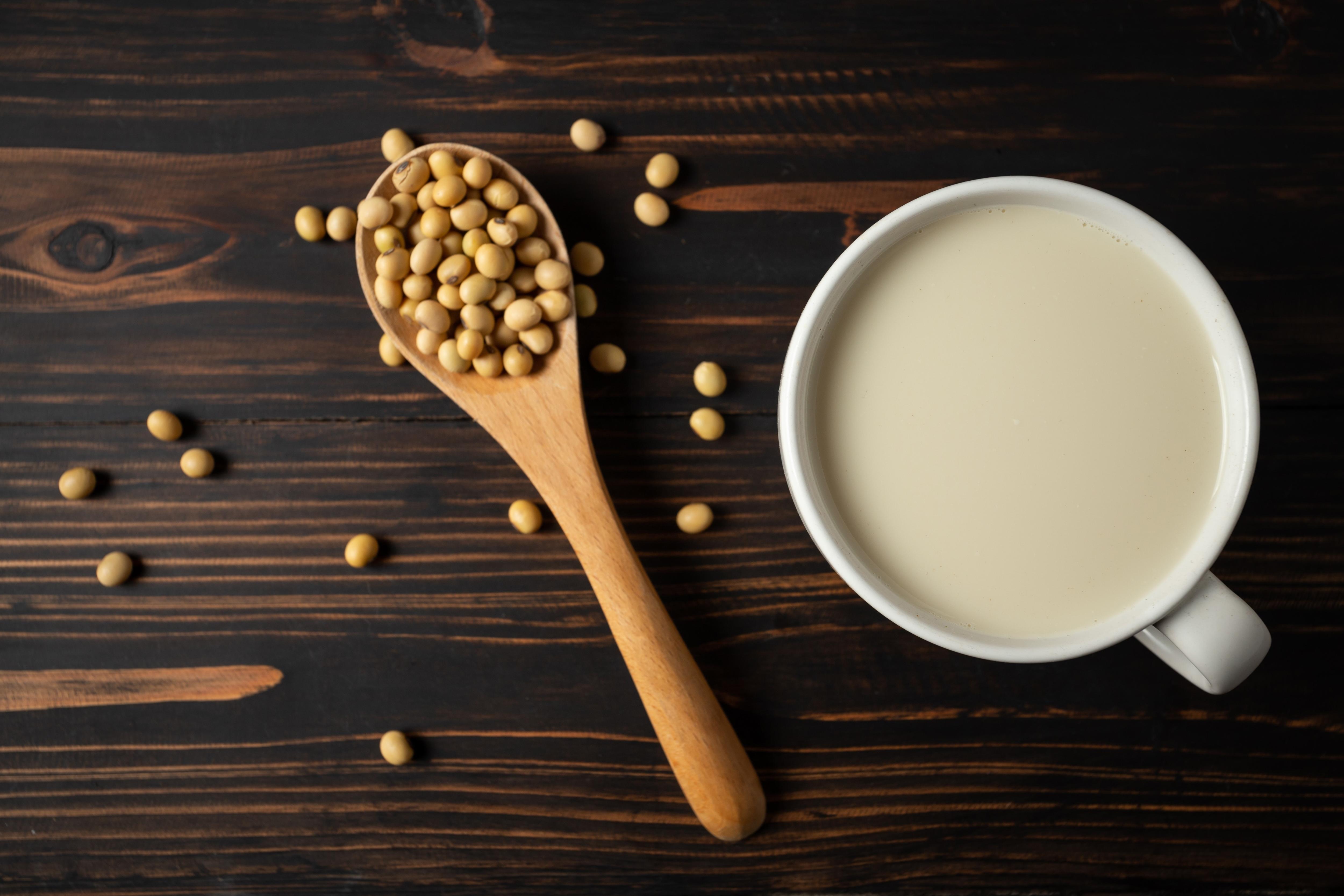 黃豆和豆漿
