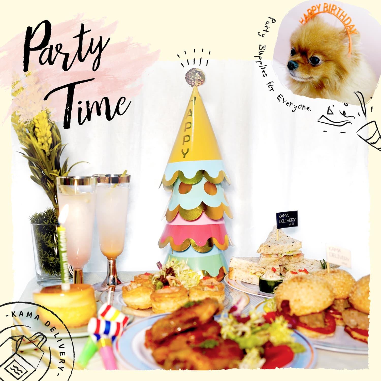 小朋友生日會到會|到會派對用品|美食到會外賣推介|Kama Delivery Catering Service