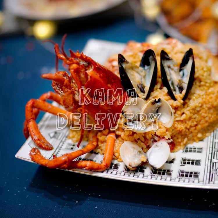 龍蝦海鮮Mac n Cheese (意大利飯)