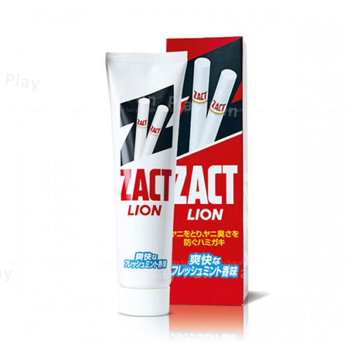獅王 - ZACT 強效去煙漬牙垢防口臭牙膏