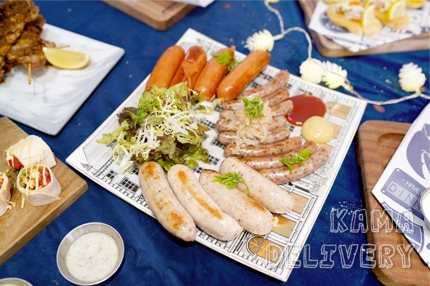 Party Room到會|美食到會外賣推介|Kamadelivery Catering Service
