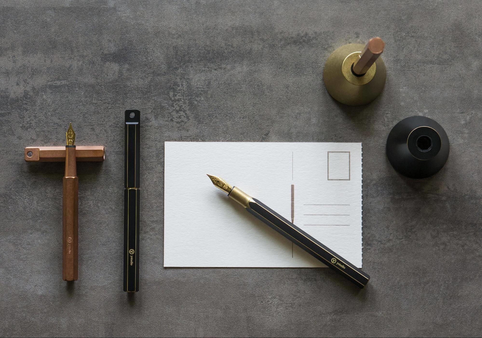 鋼筆品牌推薦:物外設計ystudio