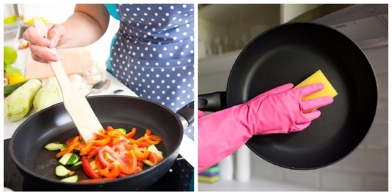 不沾鍋保養方法