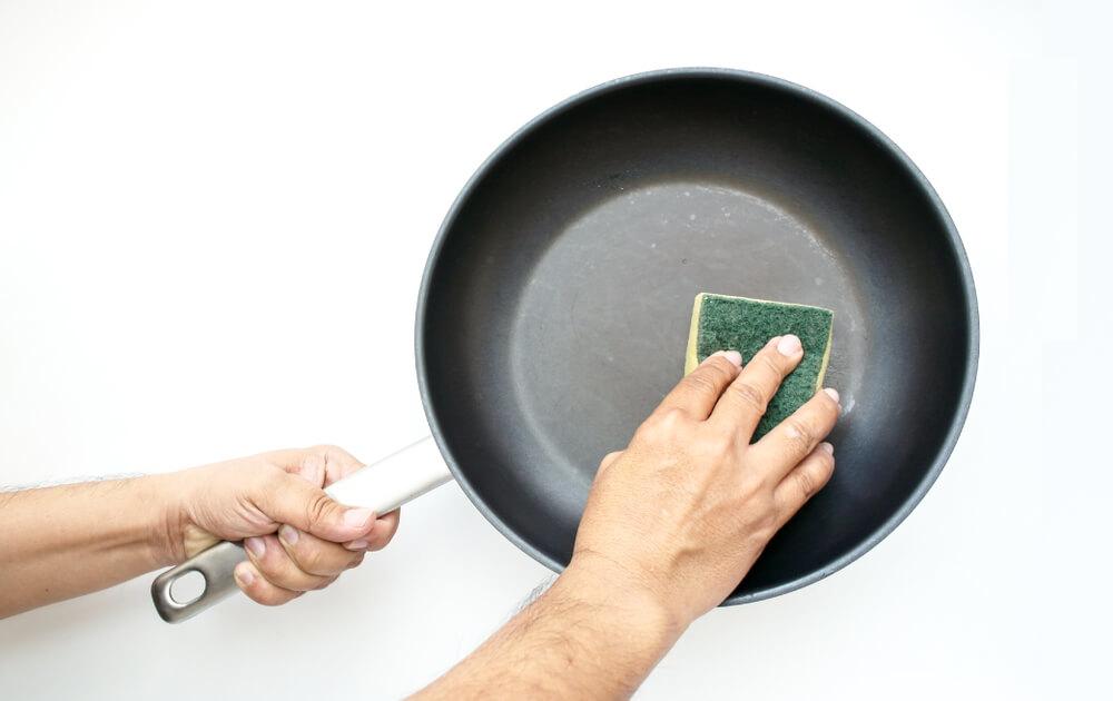 不沾鍋清洗