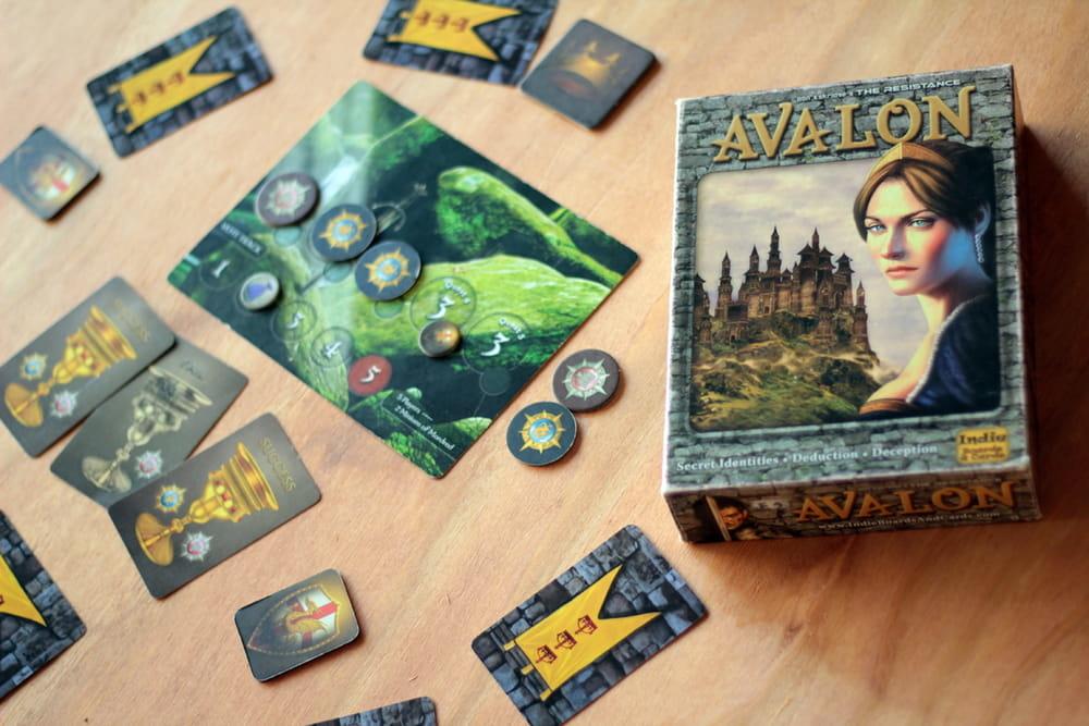 家庭遊戲必備|好玩Board Game推介|阿瓦隆