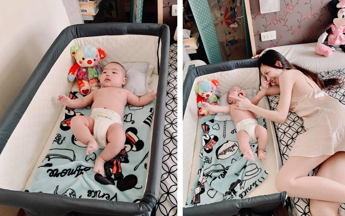 嬰兒床邊床使用情境