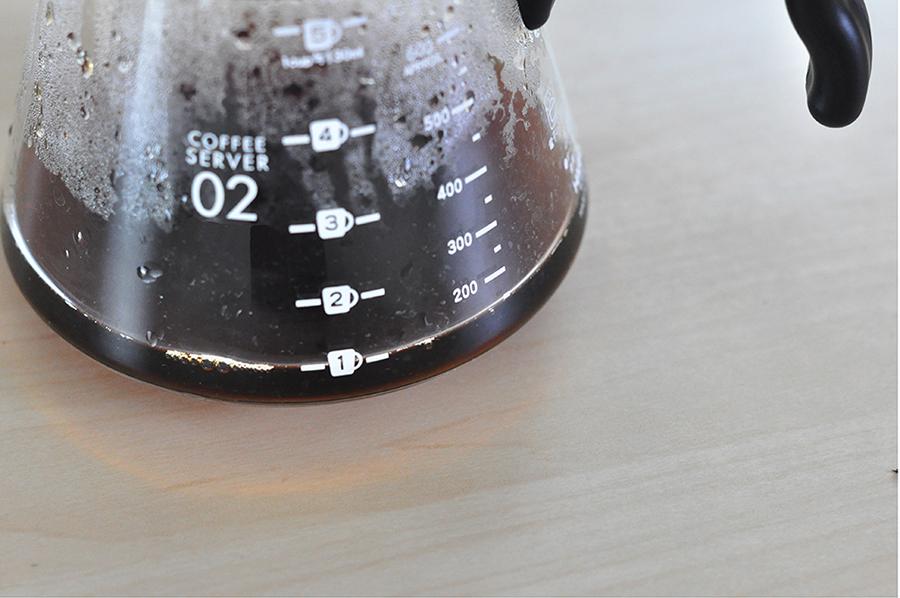 有顆度的咖啡濾壺