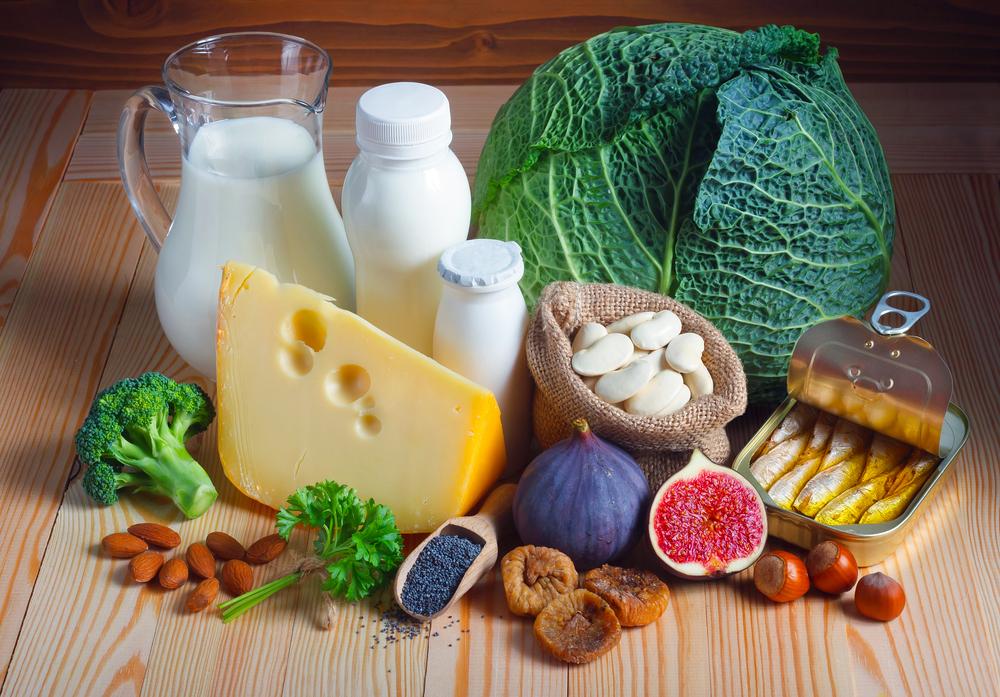 鈣來源食物