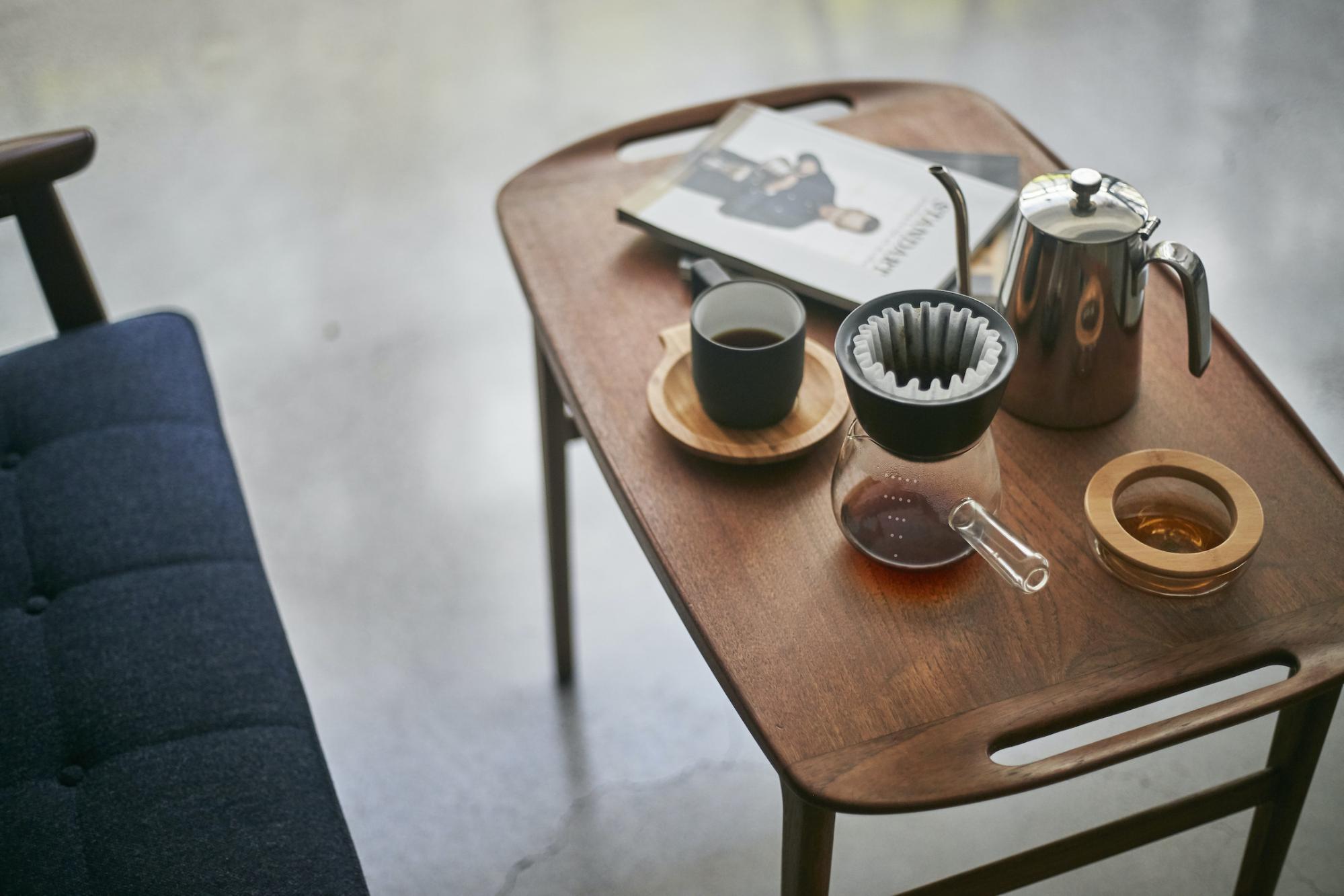 手沖咖啡組合推薦:雙層陶瓷濾杯