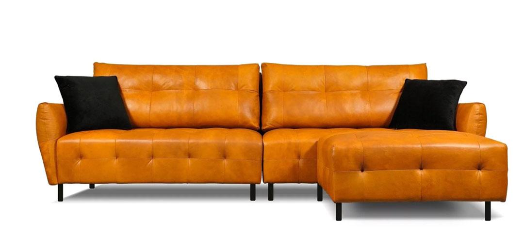 沙發先生家居-牛皮沙發-多芬沙發